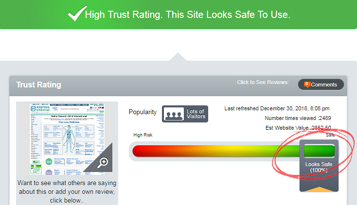 high trust rating
