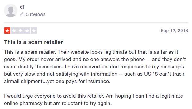 negative reviews