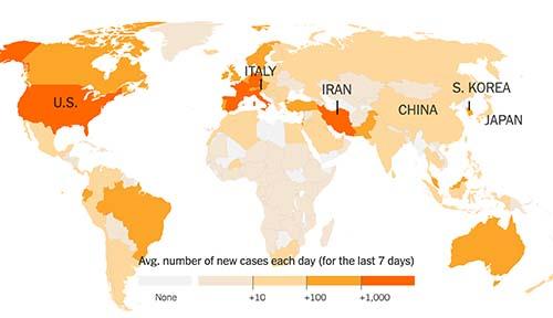 world cases